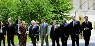 Balkanski lideri tokom samita na Bledu 2017. godine