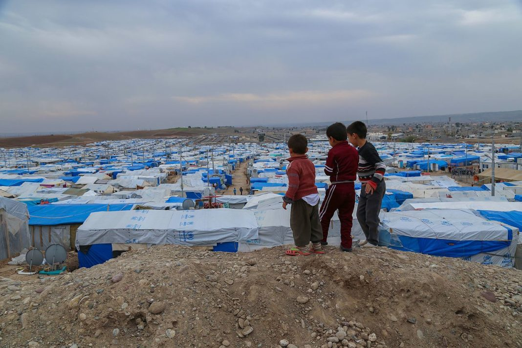 Djeca u kampu