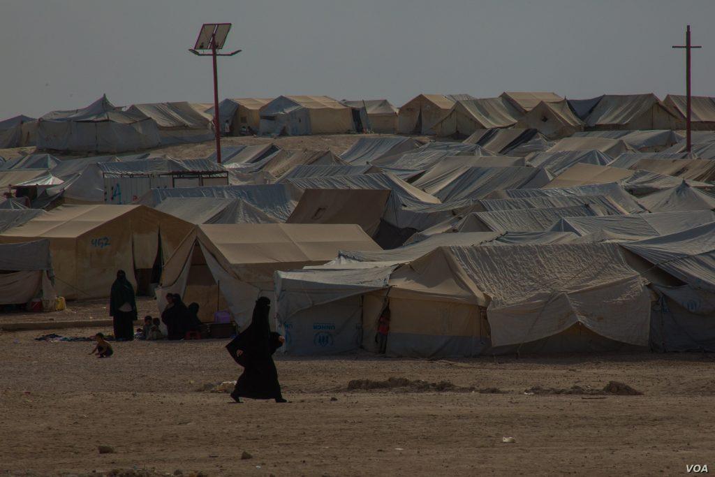 Fotografija kampa Al-Hol iz oktobra 2019. Izvor: Y. Boechat (VOA)