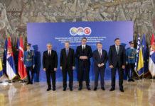 Predsjednik Srbije Aleksandar Vučić je domaćin predsjedniku Turske i članovima Predsjedništva BiHTanjug/Sava Radovanović