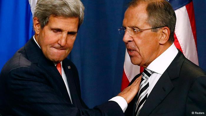 John Kerry i Sergej Lavrov